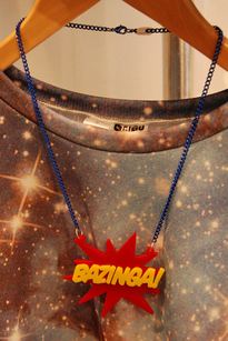 Bazinga necklace
