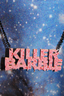 Killer Barbie halsband