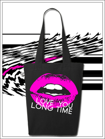 BLEEPED Love you longtime bag