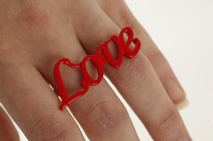 Love ring red